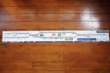 2012 Northern Line Underground Tube Carriage Interior Map