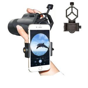 Telescope Phone Adapter Mount, Binocular Smartphone Holder Attachment, Monocular