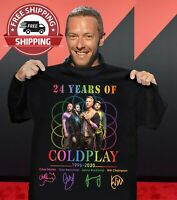 24 YEARS OF COLDPLAY SHIRT