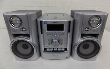 Sony CMT-HP7 AM/FM Stereo 5-CD Changer Cassette Micro Hi-Fi System NO REMOTE