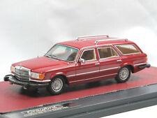 Matrix 1977 Mercedes-Benz 350 SE W116 Crayford Estate red - Kombi - 1/43 neu