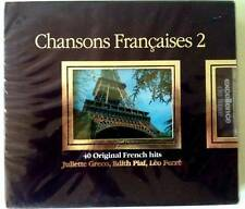 COFFRET COLLECTION - CHANSONS FRANCAISES Vol 2 - 2CD NEUF