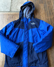 North Face Boys Ski Snow Winter Triclimate Jacket 3 In 1 XXS 5 Blue