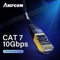 AMPCOM Cat7 Ethernet Cable Lan Network RJ45 Patch Cable Cord For PC Laptop