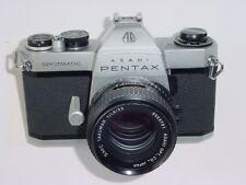 PENTAX SPOTMATIC SP II 35 mm appareil photo argentique avec Takumar 55 mm F/1.8 SMC Lentille