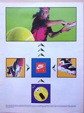 ◄► CHAUSSURES/SPORT/NIKE/AGASSI/publicité/advertising/  en 1991 / ref. 60330