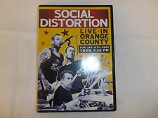 Social Distortion - Live in Orange County- DVD - NO SCRATCHES OR SMEARS ON DISC