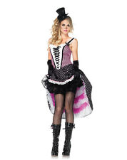 Can Can Cutie Sexy Halloween Costume Western Saloon Dancer Burlesque Small 4-6