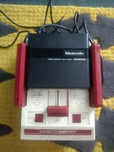 Nintendo Famicom Console HVC-001 Disk system Tested, working US seller