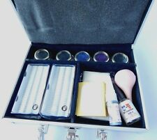False Eye Lash Pro Eyelash Extension Glue Brush Full Kit Tools Set makeup Case