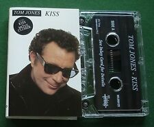 Tom Jones Kiss inc (I Can't Get No) Satisfaction + Cassette Tape - TESTED