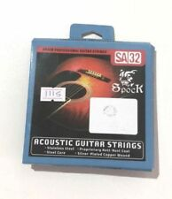Premium Acoustic Guitar Strings Prime Spock High Quality Coloured Silver Bronze