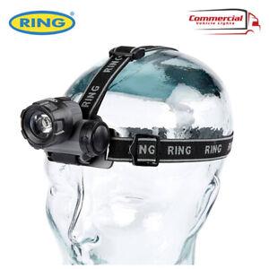 RING AUTOMOTIVE DURABLE LED HEADLAMP HEAD TORCH 50 LUMENS LIGHT RT5174