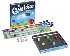 Qwixx - Das Duell - Türme bauen - Steine klauen - Taktikspiel für 2 Spieler