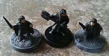 LOTR Warhammer Fellowship Gimli Merry & Pippin Metal Miniatures SUPERB
