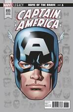 Captain America #695 Headshot Variant