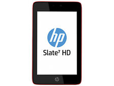 HP Slate 7 4601 SUN-B12 16GB Red Beats Audio Spares or Repairs.Needs charge port