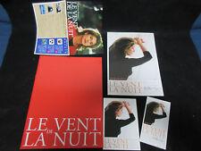 Le Vent De La Nuit Japan Film Program Book with Ticket Flyer Catherine Deneuve