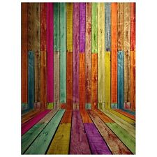 3x5ft Photography Backdrops Photo Wooden Wall Floor Background Studio Props K4I9