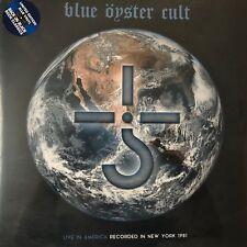 Live in America by Blue ™Öyster Cult (LTD. Blue Vinyl 2LP), 2015 Plastic Head