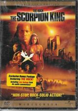 """""""The Scorpion King, Collectors Edition, w/The Rock"""" (DVD, 2002, Widescreen) new"""