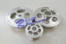 02-Up ACURA RSX TYPE S & R K20 2.0L DOHC Lightened 3 Piece Aluminum Pulley Kit