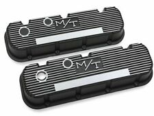 For 1968 Chevrolet Chevy II Engine Valve Cover Set Holley 29647ZT 6.5L V8