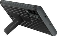 Samsung - Rugged kickstand Case for Samsung Galaxy Note 10 - Black