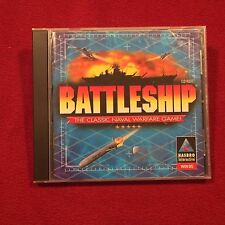 Battleship Classic Navel Warfare PC Video Game CD Hasbro