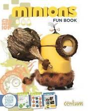 Minion FUN BOOK LIBRO Nuovo di zecca da isoglossa CENTUM Books (Rilegato, 2015)