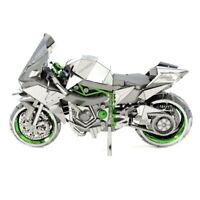 Metal Earth H2R Kawasaki Ninja 3D Laser Cut DIY Model Motorcycle Hobby Kit
