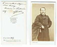 Photographie Ancienne CDV Par Mulot - Paris - Signée Fontan - 1869
