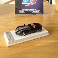 BBR 1:43 Ferrari Monza SP2 2018 Metal Black Model w/Display Case Limited 24pcs