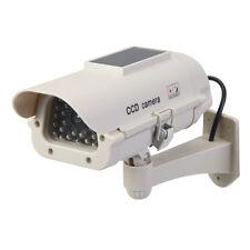 Silverline Solar-Powered Dummy CCTV Camera with LED Solar-Powered | 614458