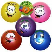 Set Of 3 Large Fruity Smelly Scented Kids Fruit Balls