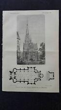 1883 70 Kirche Eimsbüttel Hamburg / Mainz Chronogramme