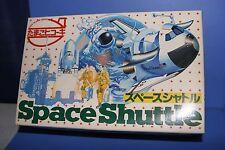 EGG PLANE HASEGAWA SPACE SHUTTLE Space swimming cartoon-style Japan