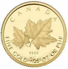2009 Canada 1/25th oz. Gold Coin - Red Maple
