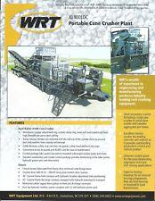 Equipment Brochure Wrt Xl400ioc Portable Cone Crusher Plant 2014 E4716