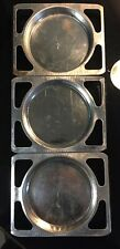 Vintage Kenner Easy Bake Oven 3 Baking Trays 1960's Three Pans Round Original
