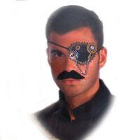 Steampunk Eyepatch Gears Halloween Costume Prop