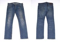 Lee Powell Slim Blu Denim Uomo Jeans W33 L32