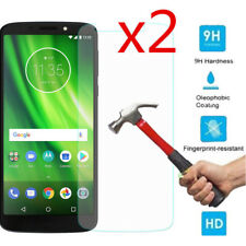 2X Premium Tempered Glass Screen Protector Cover Skin For Motorola Moto G6 Play