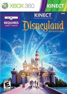 Kinect Disneyland Adventures Xbox 360 Game