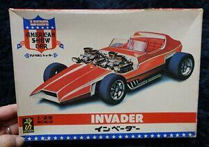 AMERICAN SHOW CAR INVADER 1/25 DOYUSHA VINTAGE PLASTIC MODEL KIT
