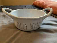 Rae Dunn Jelly Beans Easter Basket Blue Ceramic New With Tags