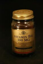 Solgar Vitamin B6 100mg 100 Vegetable Capsules