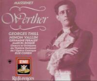 Massenet: Werther (CD, Dec-2005, Angel Records) 2 CD's