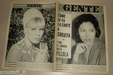 GENTE 1966/28=SORAYA=ELKE SOMMER=EQUIPE 84=SANGUINETTO KNORR=SYLVIA PLATH=