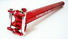 KCNC Ti Pro Lite Road CX Mountain Bike Scandium Seatpost Post 31.6mm 400mm Red